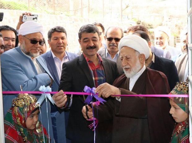 خانه بهداشت روستای عرب قاری حاجی مراوه تپه افتتاح شد