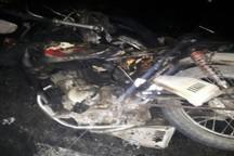 برخورد 2 موتورسیکلت در جغتای یک کشته داشت