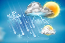 آسمان قزوین تا روز شنبه نیمه ابری تا ابری است