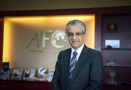 رئیس AFC در ایران/ شیخ سلمان کنار درخت اینفانتینو درخت کاشت + عکس و فیلم
