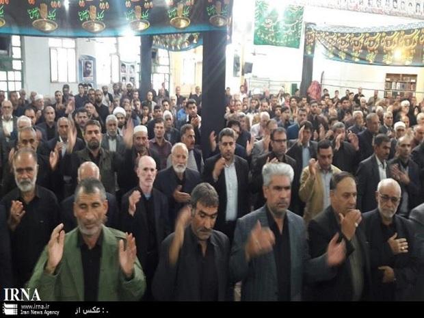 مردم پلدختر در سالروز رحلت پیامبراسلام(ص) اشک ماتم ریختند