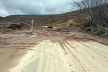 چند راه روستایی قزوین مسدود شد