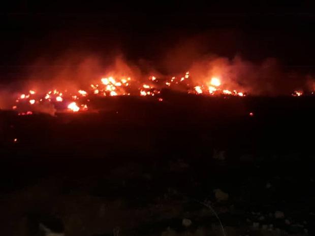 آتش در ارتفاعات میان دژان دهدز مهار شد