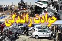 سانحه رانندگی در بجستان دو مجروح برجای گذاشت