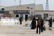 آهنگ ورود زائران عراقی بدون روادید از پایانه چذابه تندتر شد