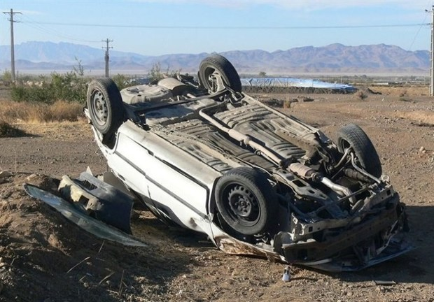 سانحه رانندگی در کرندغرب یک کشته به جا گذاشت