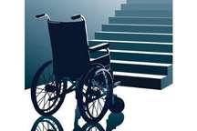 خیابان ها و معابر ایرانشهر برای تردد معلولان مناسب نیست