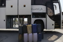 حدود 15 هزار لیتر سوخت قاچاق در پیرانشهر کشف شد