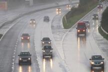 بارندگی و مه جاده های خراسان شمالی را فراگرفت