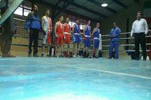 تیم منتخب بوکس استان فارس به مصاف تیم المینای عراق رفت