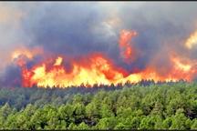 احتمال آتش سوزی در عرصه های طبیعی را افزایش می دهد