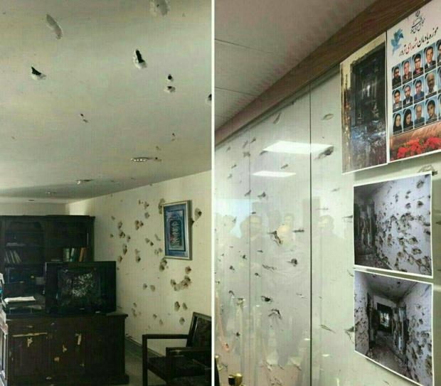 بخشهای تخریب شده مجلس در اثر حمله تروریستی در قالب اثر تاریخی حفظ شود