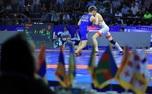 پیروزی تیم کشتی ایذه مقابل دینامو ارمنستان