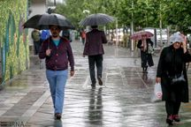 ادامه بارندگی های پراکنده در گیلان تا فردا