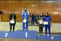 بانوی البرزی نایب قهرمان مسابقات شمشیربازی جایزه بزرگ کشور