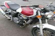 کشف موتورسیکلت های قاچاق در رشت