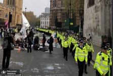 تصاویر/ لندن همچنان در تصرف فعالان