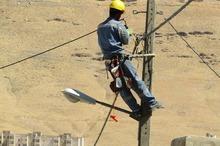 71 کیلومتر شبکه فشار ضعیف هوایی شهر بیجار اصلاح شد