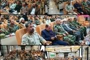 مراسم معارفه فرمانده قرارگاه عملیاتی شهید منظم تولایی در تایباد برگزار شد