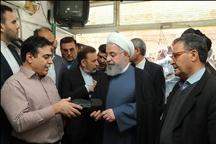 رییس جمهوری روحیه صنعتگران کفش را دوچندان کرد