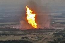 حریق در خط لوله انتقال گاز باغملک تحت کنترل در آمد