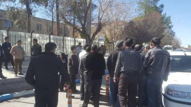 مطالبه گری کارگران روغن نباتی گلناز کرمان از استانداری