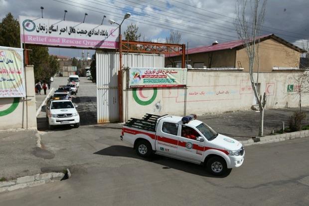 10 تیم تخصصی هلال احمر زنجان به لرستان اعزام شدند