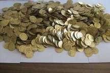 کشف یکهزار و 200 سکه تقلبی در ازنا