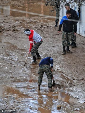 تعطیلی مدارس یک شهر خوزستان به دلیل سیل