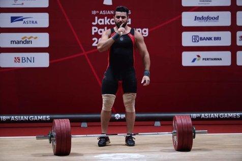 روز خوب وزنه برداری با قهرمانی علی هاشمی و مدال برنز رضا بیرالوند/ 2 طلا، یک نقره و 2 برنز برای مردان غیور ایران