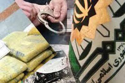 دستگیری قاچاقچی بین المللی وانهدام 2 باند قاچاق در سیستان و بلوچستان
