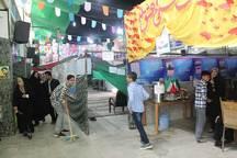نمایشگاه بهار علوی در میبد برپا شد