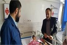 عیادت استاندار خوزستان از مصدومان کاروان راهیان نور