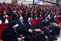 گردهمایی دختران دهه هشتادی انقلاب در مشهد برگزار شد