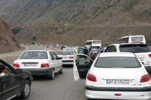 ترافیک پایان تعطیلات ، جاده های مازندران را قفل کرد