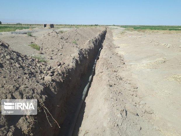حقوق مالکان زمینهای مسیر انتقال طرح آبرسانی در چالوس پرداخت میشود