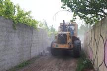 5 ویلا در لواسان تخریب شد