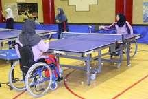 اهواز میزبان اردوی تیم ملی تنیس روی میز بانوان معلول