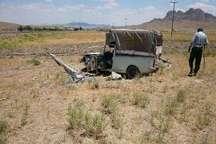 حادثه رانندگی در تربت حیدریه برق روستا را قطع کرد
