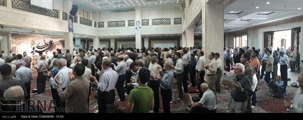 اخبار تصویری: برگزاری دعای عرفه در مصلای اصفهان