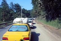 ترافیک جاده کندوان سنگین است