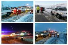 امدادرسانی به 2318 حادثه دیده و گرفتار برف در چهارمحال و بختیاری