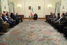 روحانی: امروز برخی جناحبندیهای عجیب و غریب در کشور وجود دارد