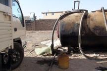 پلیس اهواز قاچاقچیان ۳۰ هزار لیتر نفت خام را ناکام گذاشت