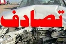 حادثه رانندگی با یک کشته و 2 مصدوم در قائم شهر