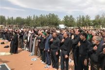نماز ظهر عاشورا در بیرجند اقامه شد