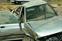 واژگونی خودروی سواری در جیرفت یک کشته برجا گذاشت