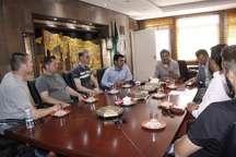 نشست گروه باستان شناسی ایران و دانشگاه گوته فرانکفورت در شیراز