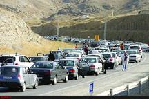 ترافیک نیمهسنگین تا سنگین در جادههای کوهستانی مازندران