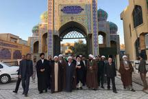 نماینده آیت الله سیستانی در شمال سیستان و بلوچستان حضور یافت
